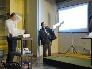 Claudio Saltarelli e Vincenzo Giannone