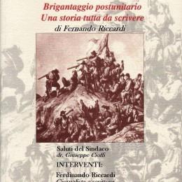 Presentazione a Pescosolido del libro Brigantaggio post-unitario: una storia tutta da scrivere