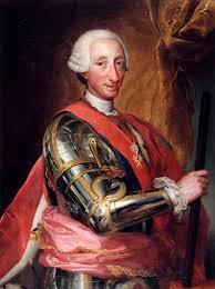 Targa al re Savoiardo coperta da un'altra per Carlo di Borbone