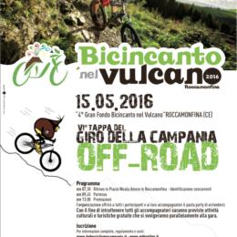 """15 Maggio gara MTB """"giro della Campania off-road 2016"""""""