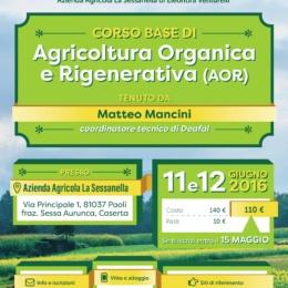 CORSO AGRICOLTURA ORGANICA E RIGENERATIVA 11-12-GIUGNO