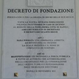 Compagnia di artefici Pompieri in Napoli