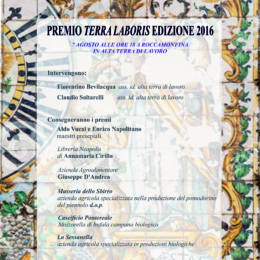LaSessanella e Giuseppe D'Andrea si presentano al premio Terra Laboris