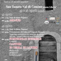A San Donato val di Comino con musica e libri i briganti diventano miti