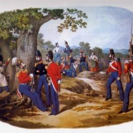 LA BATTAGLIA DI CAIAZZO 1860
