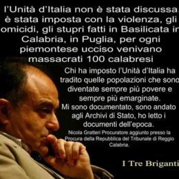 L'Unità d'Italia a scapito del Regno delle Due Sicilie attraverso i documenti inglesi recuperati da un brigante!