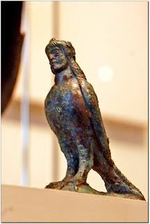 Bronze statuette of a siren