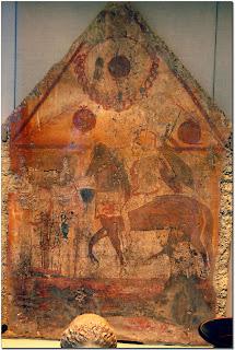 Lucanian Tomb Painting