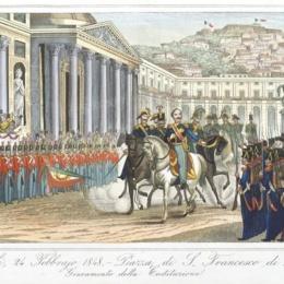 L'esperimento costituzionale del 1848