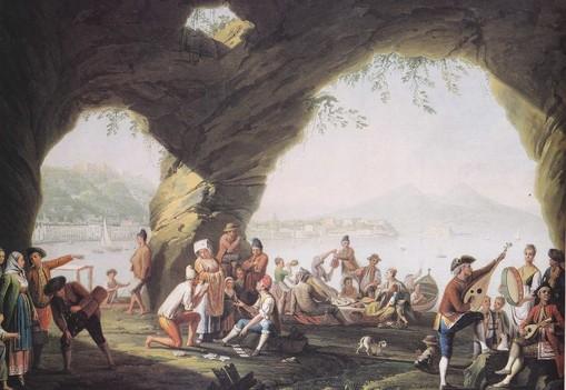 p-fabris-scene-di-vita-popolare-in-una-grotta-di-posillipo
