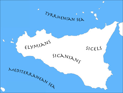 early-settlements-of-sicily-map