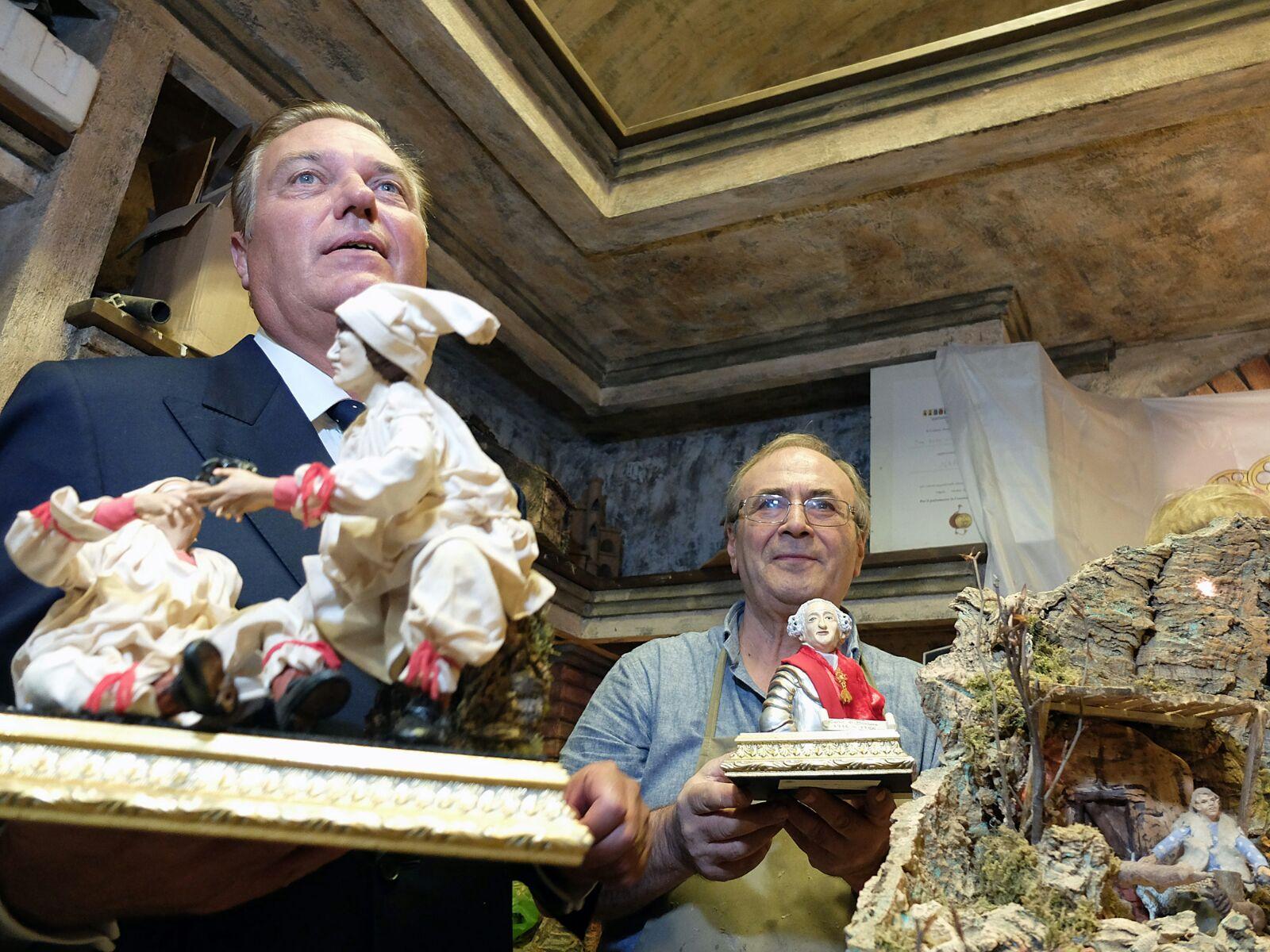 Principe Carlo con Aldo Vucai