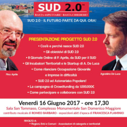 COMUNICATO STAMPA SUD 2.0