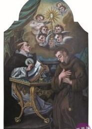 LA PALA D'ALTARE DEL 1761 DELLA CATTEDRALE DI AQUINO