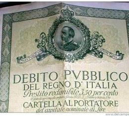 Il debito pubblico … napoletano