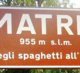 L'Amatriciana non è una ricetta romana: è originaria del Regno di Napoli