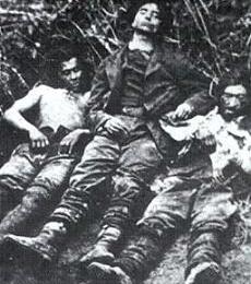 Il Brigante  ANTONIO COZZOLINO  detto PILONE e il Brigante Gaetano TRANCHELLA