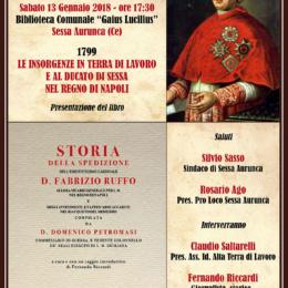 Fernando Riccardi rende onore al Ducato di Sessa