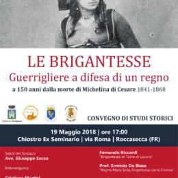 Anagrafe delle Brigantesse dell'Italia Postunitaria a cura del Prof. Domenico Scafoglio e Simona De Luna