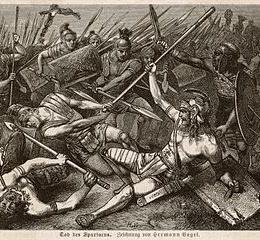 Spartaco e la rivolta degli schiavi – Spartacus and the slave revolt