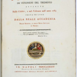 I terremoti nella STORIA: I Borbone di Napoli e il grande terremoto delle Calabrie del 1783