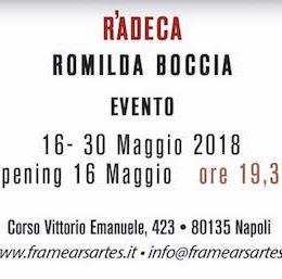 Ràdeca di Romilda Boccia al Frame di Napoli