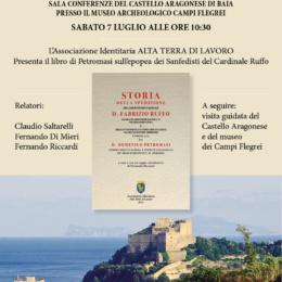 FERNANDO DI MIERI RICORDA SILVIO VITALE AL CASTELLO ARAGONESE DI BAIA