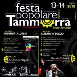 FESTA DELLA TAMMORRA 2018 AL DUCATO DI SESSA