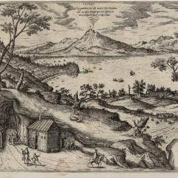 """Le eruzioni del Vesuvio nella """"Gazette"""""""