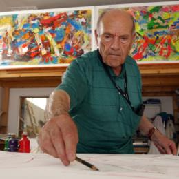 Conferimento dell'attestazione di cittadino benemerito al pittore Michele Rosa