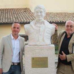 Michele Pezza e inaugurazione statua di Fra Diavolo