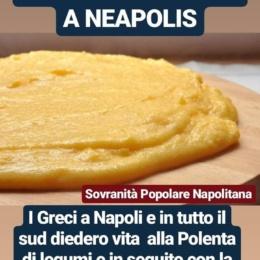 La polenta nasce a Napoli..