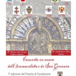 Concerto in nome dell'Immacolata e di San Gennaro