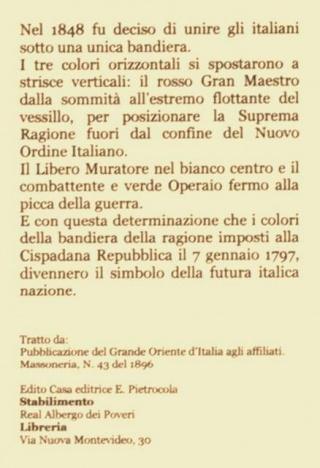 Pubblicazione del Grande Oriente d'Italia
