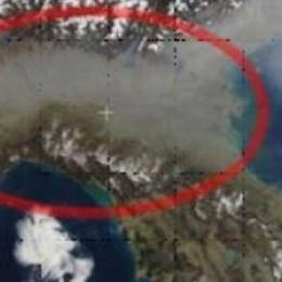 La foto della Nasa che fa paura al Nord Italia