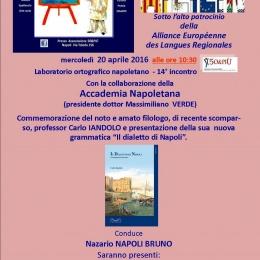 COMMEMORAZIONE CARLO IANDOLO