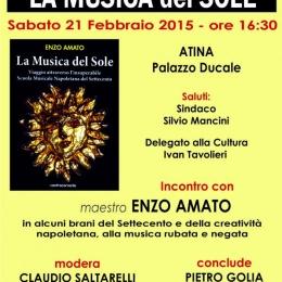 """Il libro """"La Musica del Sole"""" di Enzo Amato visto da Marina Alberghini"""