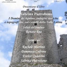 Sabrina Pietrobono, Enrico Quadrini spettacolo ad Arpino