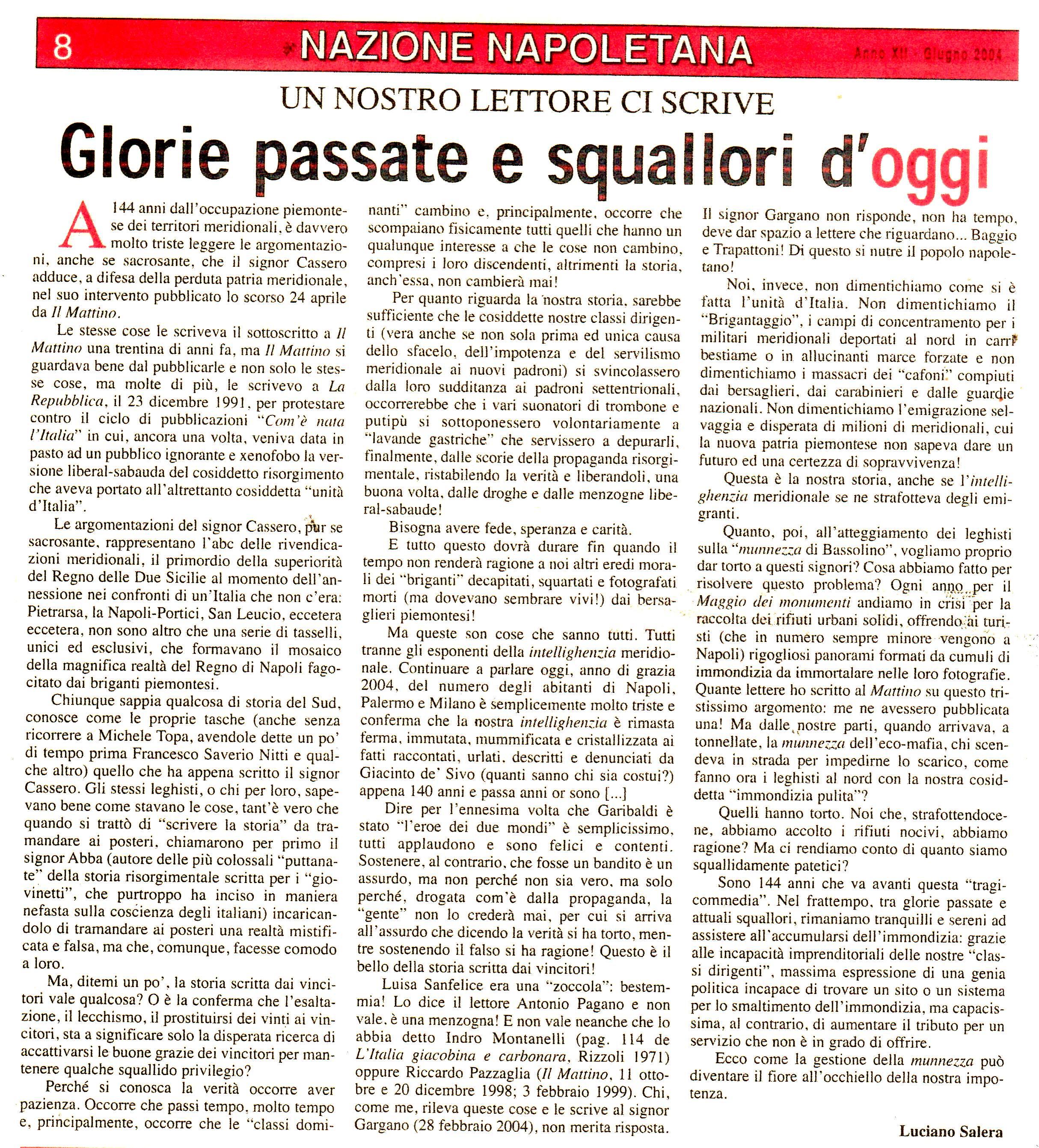 Luciano SaleraGiugno 2004