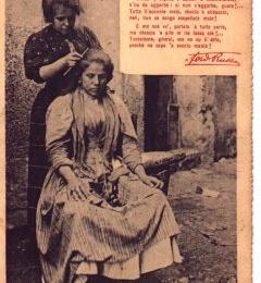 Quando le donne a Napoli vendevano i capelli per sfamarsi