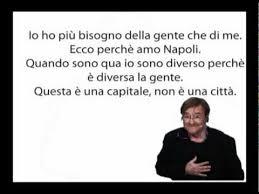 Lucio Dalla e Napoli