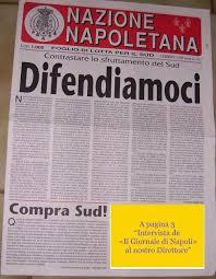 Luciano Salera cosa scrisse per la Nazione Napolitana