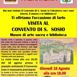 Visita al convento San Sosio di Falvaterra