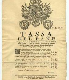 La tassa sul macinato nel Regno d'Italia