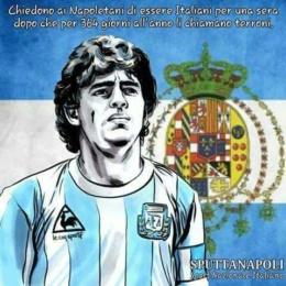 Maradona troppo re, troppo napoletano e troppo amato per l'ordine mondiale.