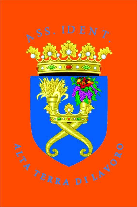 terra di lavoro stemma FONDO MATTONE CHIAROautocrr - AA BB