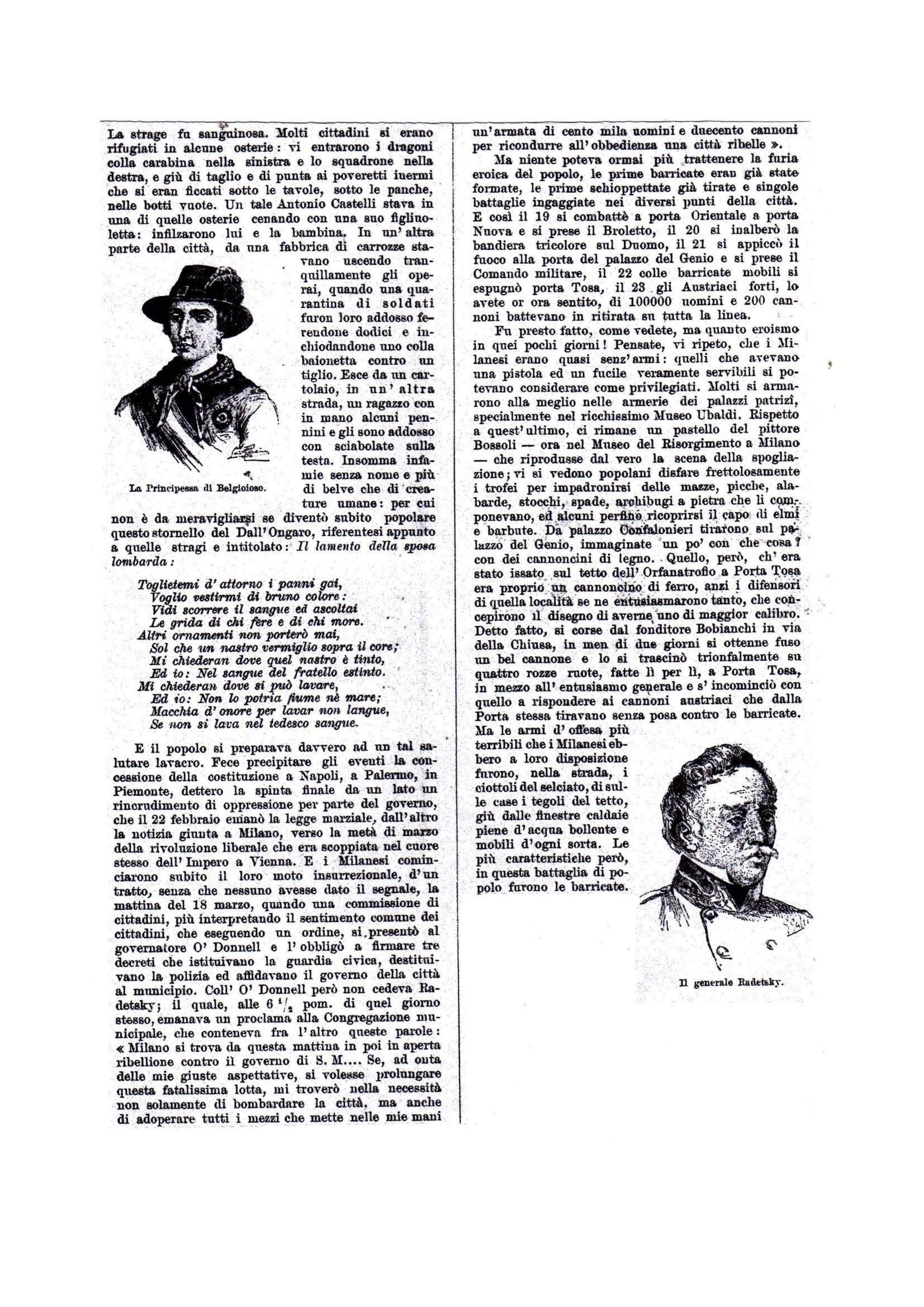 LE 5 GIORNATE - 1909 SECONDA PUNTATA