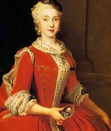 MARIA AMALIA di Sassonia, regina di Napoli e Sicilia, poi di Spagna