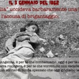 Gennaio 1862, Castellammare del Golfo: i piemontesi fucilano Angelina Romano, una bambina di 9 anni!