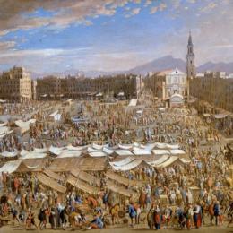 Piazza Mercato, una piazza unica al mondo